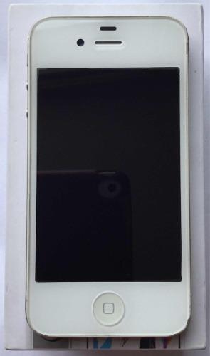 Iphone 4s 8gb Blanco Libre De Fábrica Seminuevo Caja