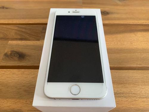Iphone 6 128 Gb Blanco Perfecto Estado Con Caja Y Accesorios
