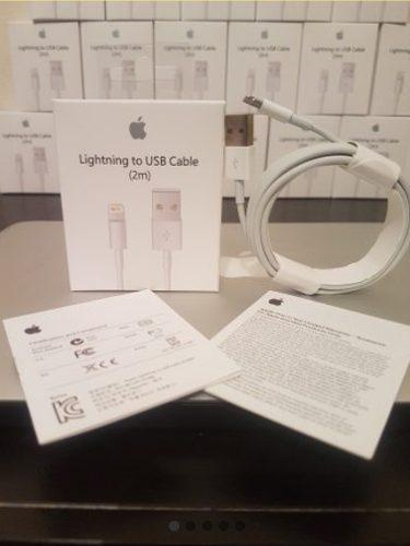 Mayoreo Paquete De 10 Cables Lightning De 2 Metros Iphone !