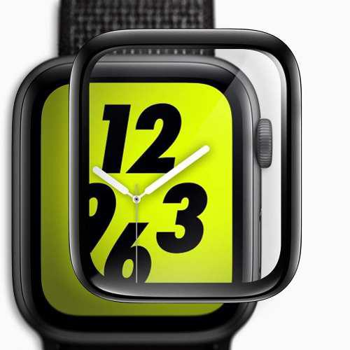 Mica D Cristal Templado 3d De Lujo Para Apple Watch 40 44 Mm