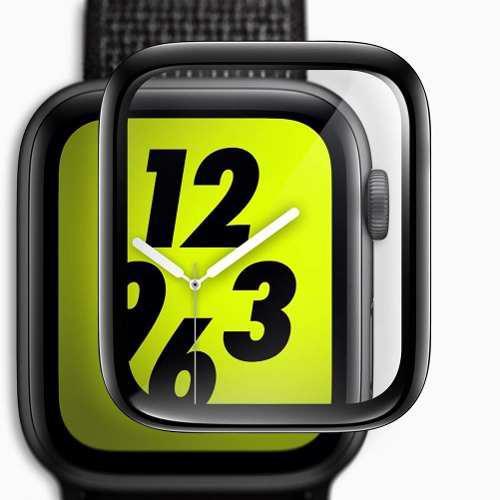 Mica D Cristal Templado 3d De Lujo Para Apple Watch Serie 4