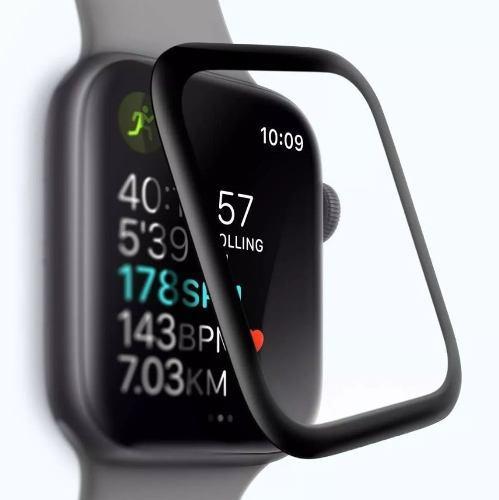Mica De Cristal Templado 3d Para Apple Watch Serie 4
