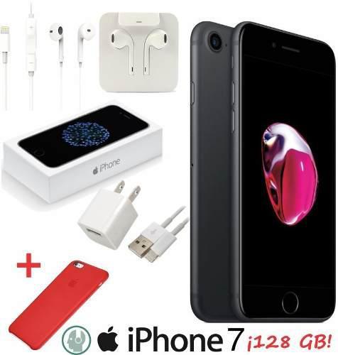 Oferta! Iphone 7 128gb Caja Accesorios Original Envío