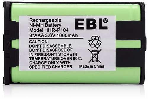Pack De 3 Baterías Panasonic Hhr-p104, Envío Gratis !!!