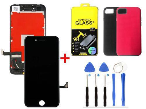 Pantalla Display Iphone 8 Calidad Si Ajusta Brillo + Regalos