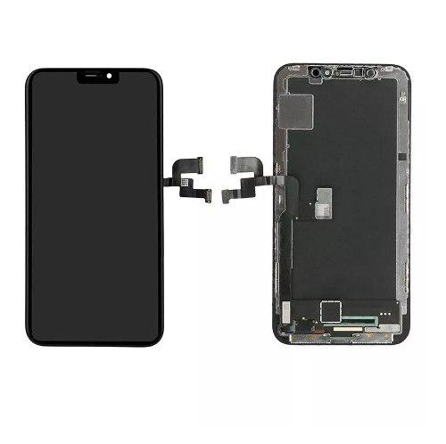 Pantalla Display Para Iphone X 10x Negro Mas Kit Gen