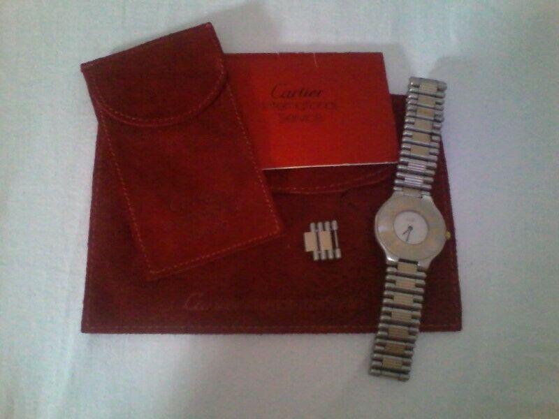 Reloj Cartier s21 original