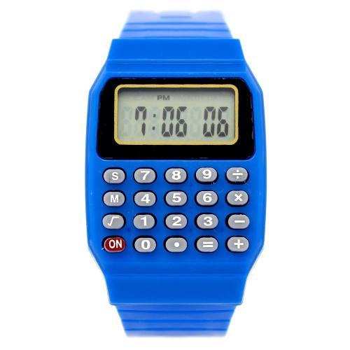 Reloj Digital Infantil Estilo Retro Con Calculadora Simple