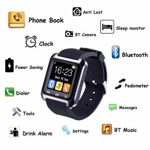 Reloj Inteligente Android Smartwatch U8