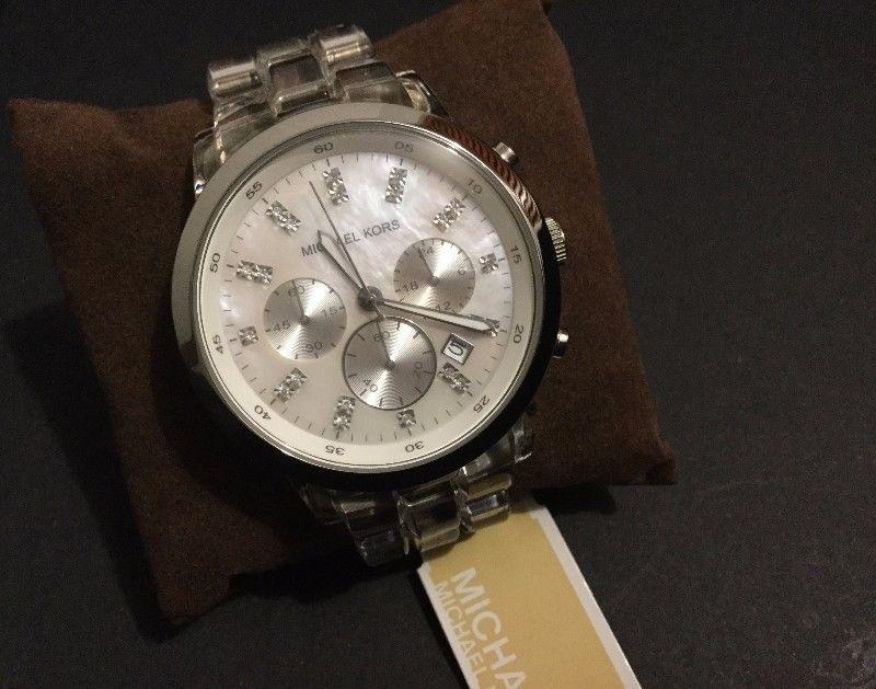 Reloj Michael Kors MK-  con Cristales de Swarovsky