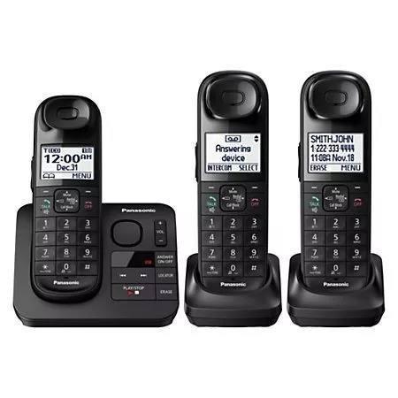 Set De Teléfonos Inalámbricos Panasonic Kx-tg 430-3