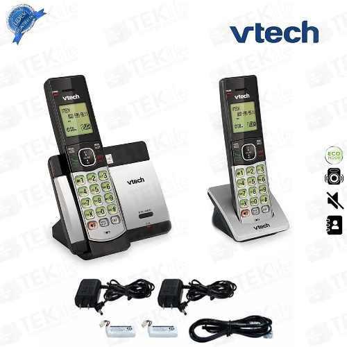Teléfono Inalambrico Vtech Doble Csr5119-2 Con Id Altavoz