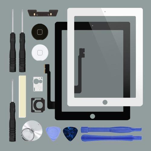 Touch Original Ipad 3 Y 4 A1416 A1430 A1458 Cristal Pantalla