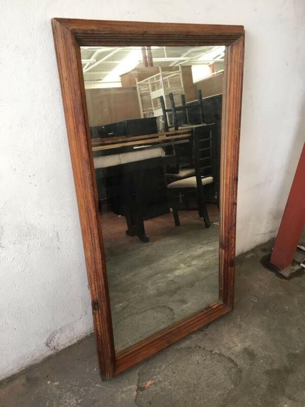 Espejo rústico 100% madera de pino! 
