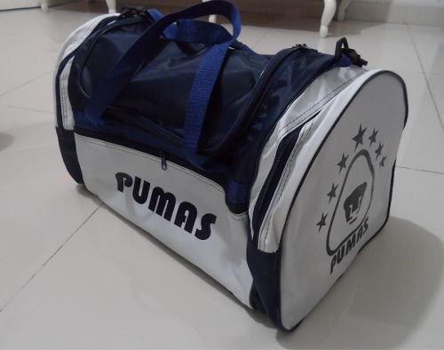 Maleta Deportiva De Los Pumas De La Unam, Envío Gratis!