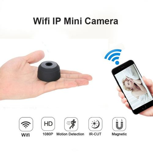 Mini Cámara Espía Wifi Hd