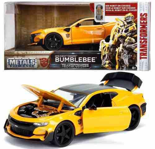 2016 Chevy Camaro Bumblebee Transformers 1:24 Oferta !