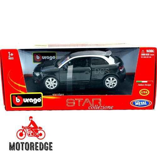 Audi A1 Negro Burago 1/24 Nuevo Envío Inmediato
