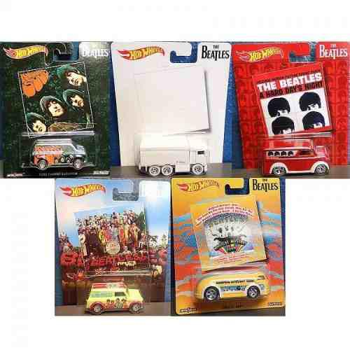 Autos De Beatles Serie Completa Hotwwheels