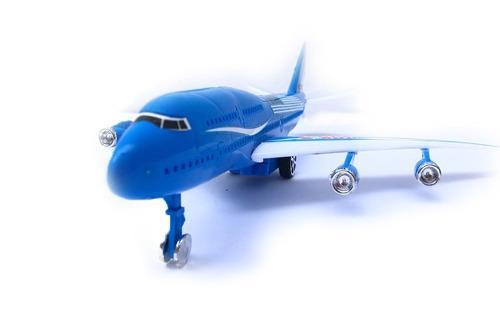 Avión De Plástico Chico 1 Pz Publicidad 32cm