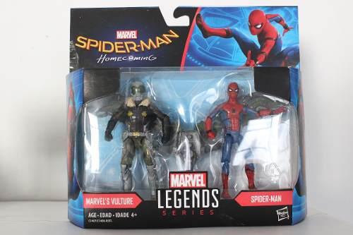 Buitre Y Spiderman Homecoming Marvel Legends Series Hasbro