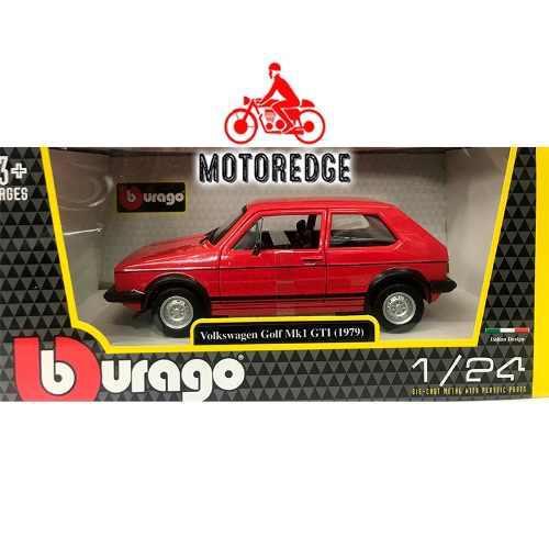Burago Caribe Volkswagen Golf Gti Mk1 1979 Roja 1/24 Oferta