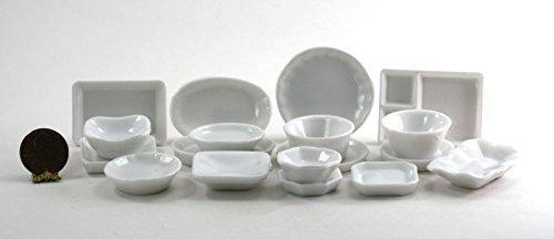 Casa De Muñecas En Miniatura Escala Del 1:12 Cocina Blanca