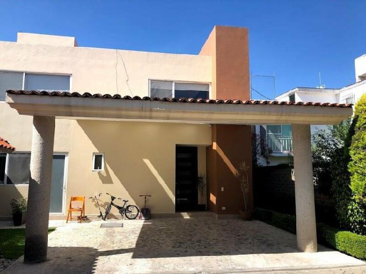 Casa en venta en Cholula cerca de la UDLAP