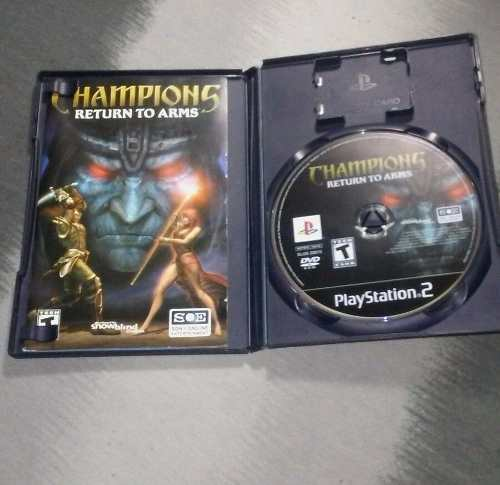 Champions Of Norrath / Return To Arms Ps2 Rpg Paquete