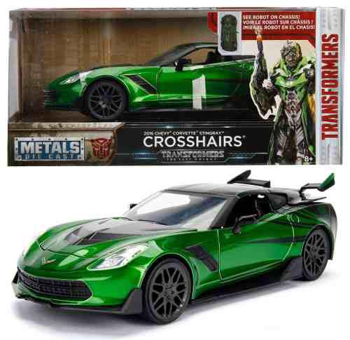 Chevy Corvette Stingray Crossairs Transformers 1:24 Oferta