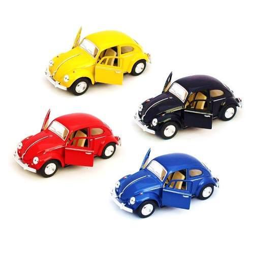 Colección De 4 Vochos A Escala 1:32 Volkswagen Beetle 1967