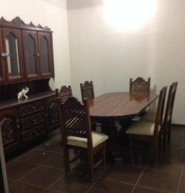 Comedor 6 sillas con Trinchador estilo antiguo