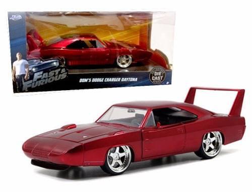 Dom´s Dodge Charger Daytona Jada 1:24 Rapido Y Furioso