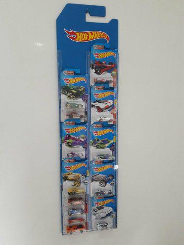 Exhibidor - Coleccionador Hot Wheels 34 Autos