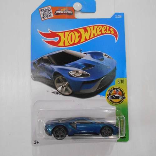 Fermar4020 17 Ford Gt E-345 73/250 2016 Hot Wheels Azul