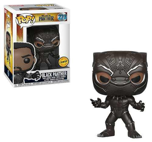 Figura Coleccionable Funko Pop Black Panther Chase #273