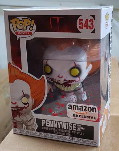 Funko Pop Pennywise With Severed Arm Amazon Exclusivo It 543