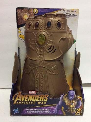 Guante De Thanos Marvel Avengers Infinity Nuevo Hasbro