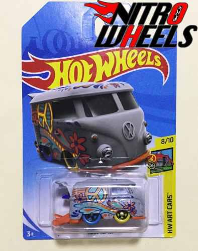 Hot Wheels Art Cars Kool Kombi Gris
