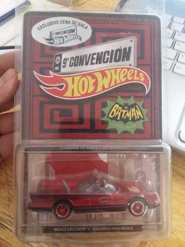 Hot Wheels - Batman Classic Tv Series - 9 Convencion - 1:64
