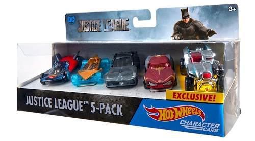 Hot Wheels Justice League Pack 5 Autos