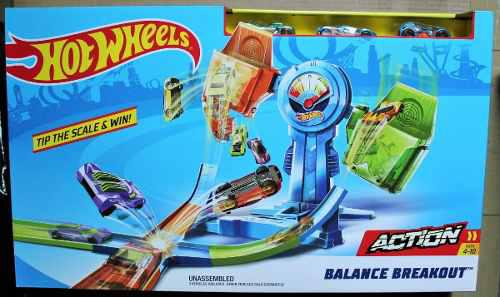 Hot Wheels Pista Equilibrio Extremo Balance Breakout