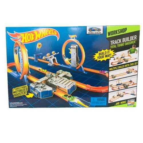 Hot Wheels Pista Motorizada De Doble Dirección Mattel