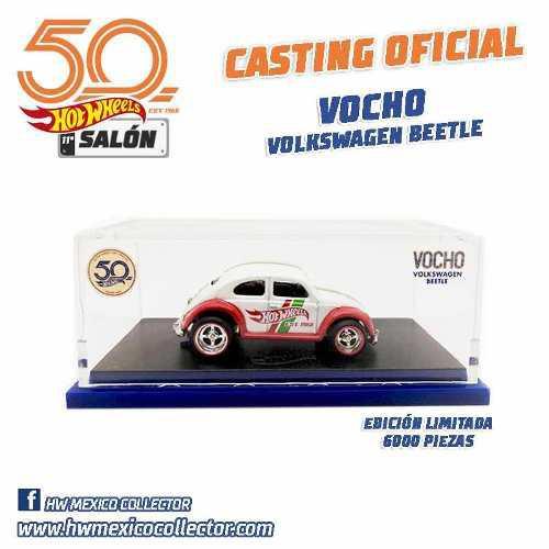Hot Wheels Salón Convención Mexico 2018 Vw Beetle Vocho