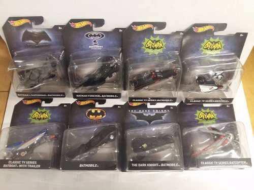 Hot Wheels - Serie Batman - 8 Piezas - 1:50