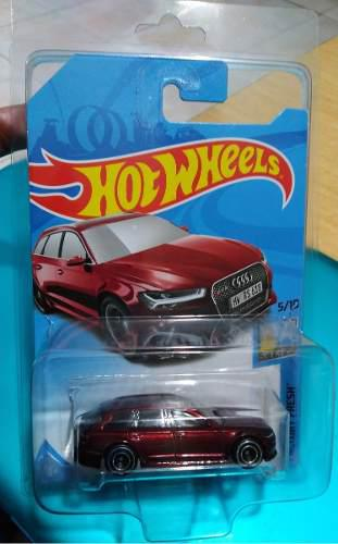 Hot Wheels Super Treasure Hunt 17 Audi Rs 6 Avant 2018 Goma