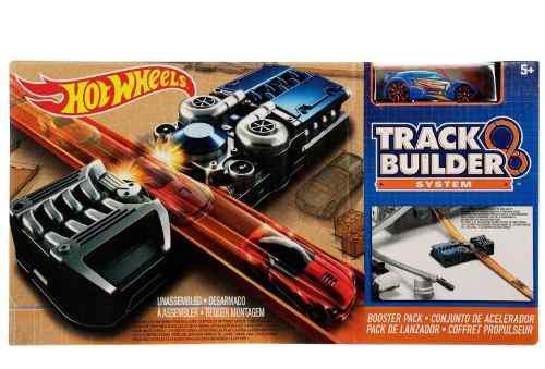 Hot Wheels Track Builders Pack De Lanzador Pista