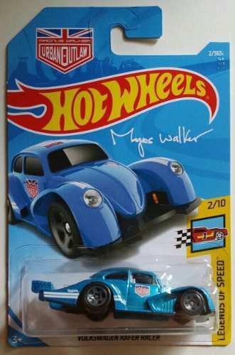 Hot Wheels Volkswaguen Kafer Racer Magnus Walker 2018 Legend