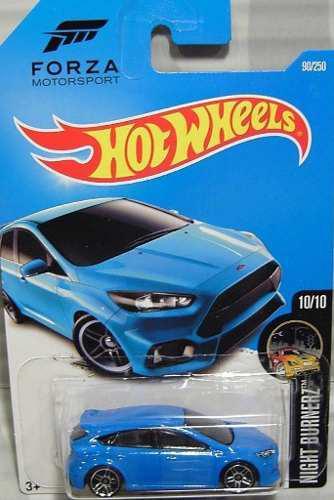Hotwheels '16 Ford Focus Rs #90 2016