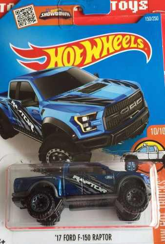 Hotwheels '17 Ford F 150 Raptor #150 2016